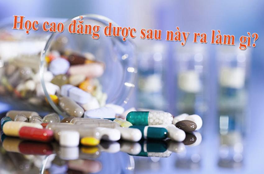 Học cao đẳng dược có được mở tiệm thuốc không