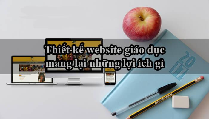 lợi ích web giáo dục