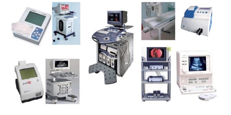 các trang thiết bị y tế phổ biến